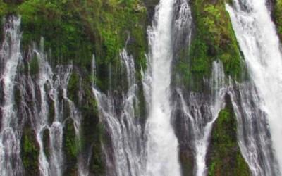 Burney Falls, Mt. Shasta, California